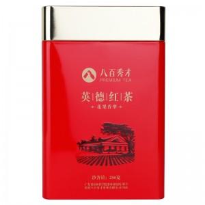 八百秀才 英德红茶 果香型250克罐装  广东特产