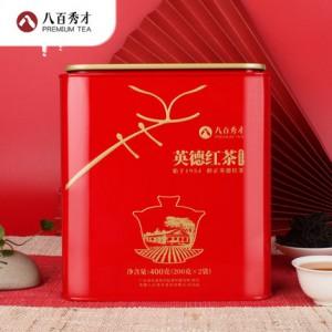 八百秀才 英德红茶  蜜韵香型400g  广东特产